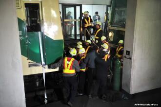 Doua metrouri s-au ciocnit in Coreea de Sud. Peste 170 de oameni sunt raniti. GALERIE FOTO