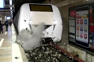 Cazul metroului care nu incape in statii. Reporterii ProTV au aflat daca se mai pot produce accidente dupa taierea peroanelor