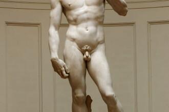 Statuia lui David, de Michelangelo, este in pericol sa se prabuseasca. Sculptura cantareste 5,5 tone