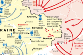Analiza Washington Post: Cum se indreapta Ucraina si Rusia spre razboi. INFOGRAFIC cu pozitionarea soldatilor la granita