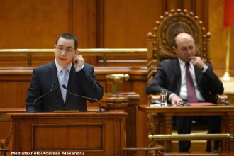 Ponta, intrebat daca Basescu va ajunge la puscarie: Eu cred ca se duce, dupa ce nu mai are imunitate
