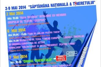Ziua tineretului 2014. Alba Iulia gazduieste o serie de workshop-uri, evenimente sportive si culturale dedicate tinerilor