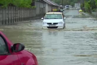 COD PORTOCALIU de inundatii in patru judete si GALBEN in jumatate de tara, pana vineri. HARTA zonelor afectate