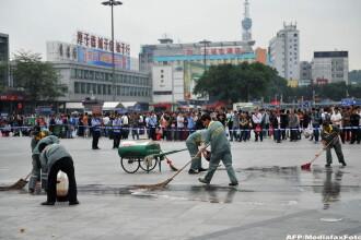 China, terorizata de extremistii religiosi. Inca 6 oameni au ajuns la spital dupa ce au fost atacati cu cutitele