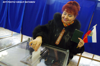 Gafa enorma a oficialilor rusi: au publicat rezultatele REALE ale referendumului din Crimeea. Doar 15% ar fi votat anexarea