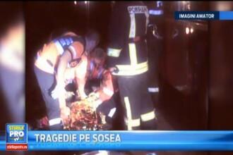 Accident rutier grav in apropiere de Bistrita. Un pasager si-a pierdut viata
