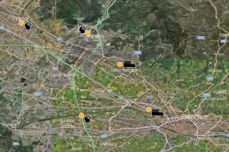 Harta atacurilor