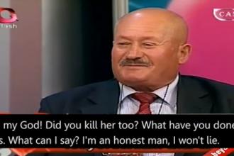 Un barbat a recunoscut ca si-a ucis sotia si amanta, la o emisiune TV, unde mersese pentru a isi cauta o noua nevasta