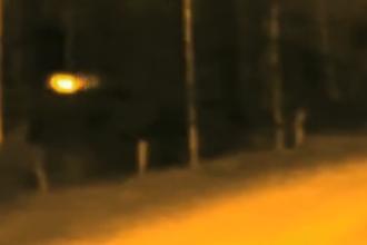 Camerele de supraveghere din Rusia au surprins imagini cu un obiect misterios, in zbor. Se crede ca e vorba de un OZN