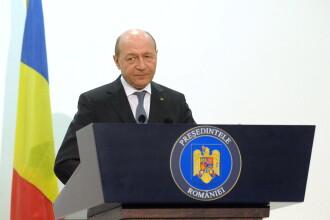 Traian Basescu a plecat la summitul din Varsovia:
