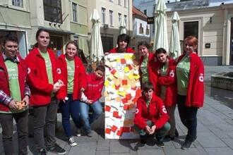 Saptamana Nationala a Voluntariatului, promovata de Crucea Rosie Sibiu