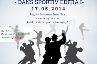 Maraton de dans sportiv la Blaj. Peste 300 de perechi de dansatori se intalnesc pe ringul de dans