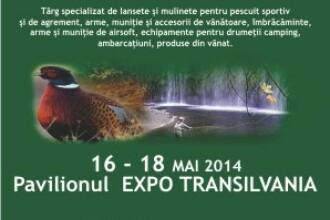 Cel mai important targ regional de Vanatoare si Pescuit se desfasoara in weekend la Cluj-Napoca