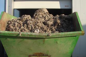 20 de tone de gunoaie au ajuns in statia de epurare a Timisoarei,in urma ploilor abundente.Debitul apei, de doua ori cat Bega