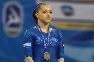Larisa Iordache dupa doua medalii de aur la Sofia: Mi-au dat lacrimile de bucurie. Lotul a intrecut asteptarile antrenorilor