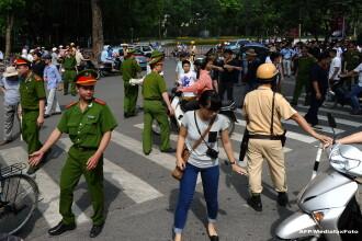 Cele mai violente revolte inregistrate in Vietnam in ultimele decenii. China isi evacueaza cetatenii. VIDEO