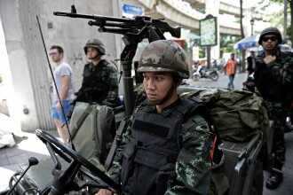 Legea martiala in Thailanda. Armata decreteaza cenzura mass-media: