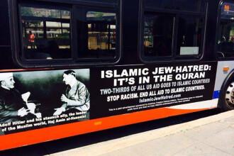 Poza lui Hitler a aparut pe autobuzele din Washington. De ce nu poate fi data jos