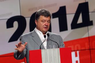 Criza in Ucraina. Rebelii au doborat un nou avion in ziua in care Porosenko a fost investit in functia de presedinte