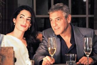 George Clooney si logodnica lui se pregatesc de nunta. Cum arata castelul de 39.000 dolari pe noapte, in care se vor casatori