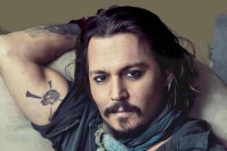 Johnny Depp, de nerecunoscut in filmul