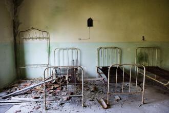 Au mers sa viziteze un spital abandonat si au plecat inspaimantati de acolo. Ce au surprins intr-o fotografie