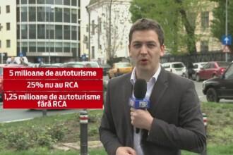 25% dintre masinile din Romania nu au polita obligatorie RCA. Ce masuri vor lua autoritatile in privinta celor fara asigurare