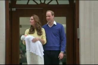 Fetita Printului William si a ducesei Catherine se va numi Charlotte Elizabeth Diana. De ce au ales acest nume