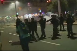 Confruntari soldate cu zeci de raniti in Israel. Protestatarii au incercat sa ocupe primaria din Tel Aviv