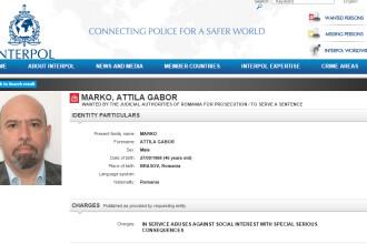 Un fost parlamentar si secretar de stat din Romania a ajuns pe site-ul Interpol. Ce acuzatii i se aduc
