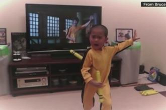Copilul din Coreea de Sud care face senzatie pe internet. A fost poreclit