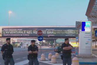 Principalul aeroport din Roma, afectat de un incendiu puternic. Activitatea se reia treptat dupa ce cursele au fost anulate