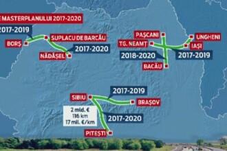 Guvernul amana pe 2017 constructia autostrazilor, dar face planuri.