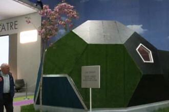 Cum ar putea arata casa viitorului. Ziduri facute din canepa maruntita si apartamente la pachet, livrate pe bucati