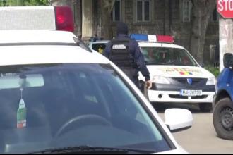 Perchezitii in Braila. Politistii de la Rutiera, acuzati de luare de mita, au fost adusi cu dubele la sediul politiei