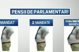 Comisia pentru Statut a aprobat proiectul pensiilor speciale pentru parlamentari. Cati bani alesii vor primi pentru 1 mandat