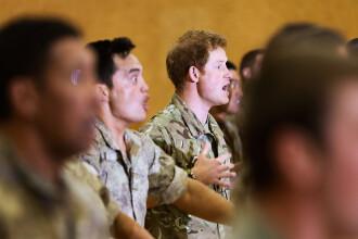 Printul Harry a facut haka alaturi de militari neozeelandezi. Cum s-a descurcat in mijlocul soldatilor. VIDEO