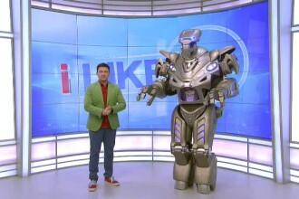 Cel mai cunoscut si mai iubit robot din toata lumea, TITAN, a ajuns la iLikeIT. Canta, danseaza si vorbeste ca un om