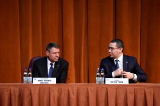 Iohannis il contrazice pe Ponta in problema inchiderii frontierelor. Intalnirea premierilor,