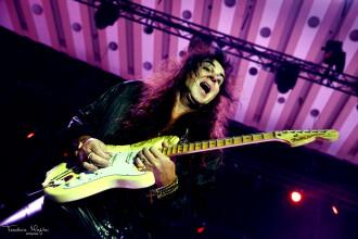 Yngwie Malmsteen a dat lectii de chitara la Bucuresti. Cel mai asteptat eveniment clasic-rock al anului, in Romania. FOTO