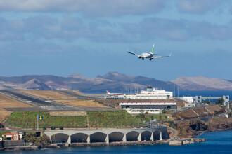Cum arata cel mai periculos aeroport din Europa. Fiecare aterizare e cu emotii chiar si pentru pilotii experimentati: VIDEO