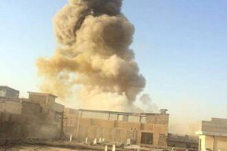 Batalia pentru Irak. Teroristii Statului Islamic au cucerit orasul Ramadi cu un buldozer blindat