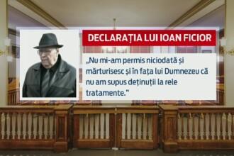 Prima declaratie a lui Ion Ficior, cu 103 suflete pe constiinta: