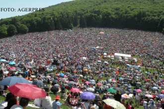 300 de mii de oameni, la cel mai mare pelerinaj catolic din tara noastra. Ce oficiali maghiari au venit in Romania