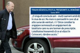 Basescu, dupa lansarea cartii Adrianei Saftoiu, in care e subiect principal: Slava Domnului, m-am oprit cu increderea in 2007