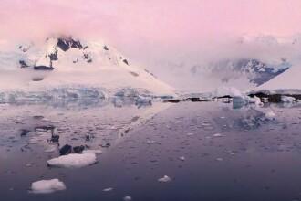 Imagini spectaculoase cu Antarctica filmata de la inaltime