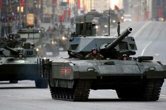 Rusia a concentrat tancuri si artilerie la granita cu Ucraina. Reactia Kremlinului si scenariile inaintate de NATO. VIDEO