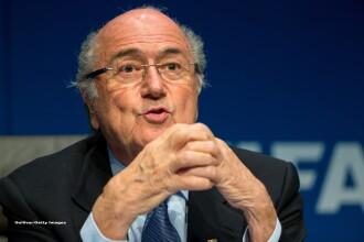 Sepp Blatter si-a dat demisia de la FIFA la cateva zile dupa ce a fost reales presedinte. Explicatia unui cutremur in fotbal