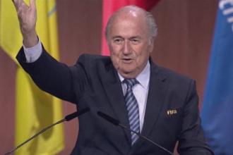 Eternul presedinte FIFA: cum a castigat Blatter un al 5-lea mandat in mijlocul scandalului de coruptie. Reactiile oficialilor
