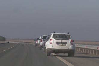 Sofer care conducea cu 239 de km/ora, depistat de politisti pe Autostrada A3. Amenda uriasa pe care a primit-o